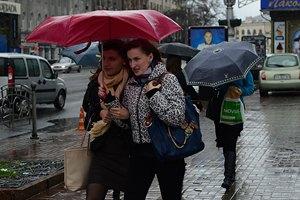 Завтра в Киеве будет дождливо