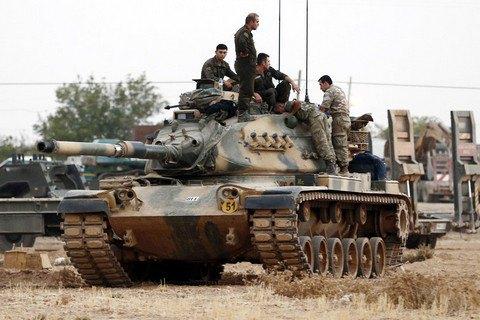 Турецкая армия сообщила о ликвидации более 70 курдских боевиков в Сирии