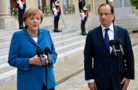 Меркель і Монті обговорять проблеми єврозони