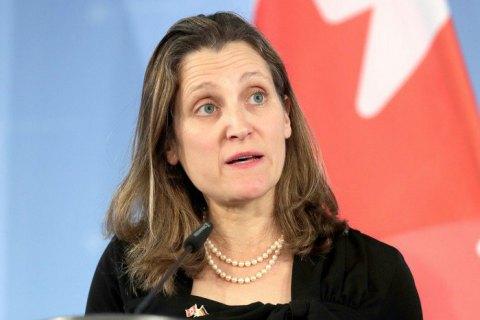 Канада осудила проведенную Россией «насильственную интеграцию Крыма»