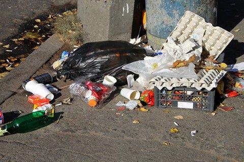В Раду внесли законопроект о драконовских штрафах за бросание мусора мимо урны