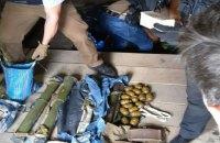 """В гараже бывшего бойца """"Киев-2"""" нашли четыре РПГ, 42 гранаты и 4 тысячи патронов"""