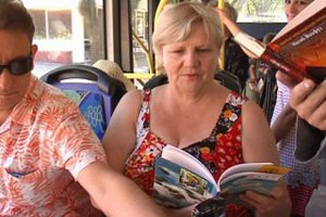 В Николаеве появился троллейбус-библиотека
