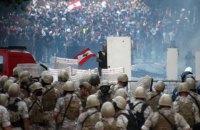700 протестувальників та 70 поліцейських отримали поранення під час сутичок у Бейруті
