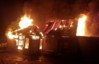 В Одесской области из-за новогодней гирлянды сгорел дом