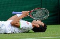 Українські тенісисти поламали зуби об траву