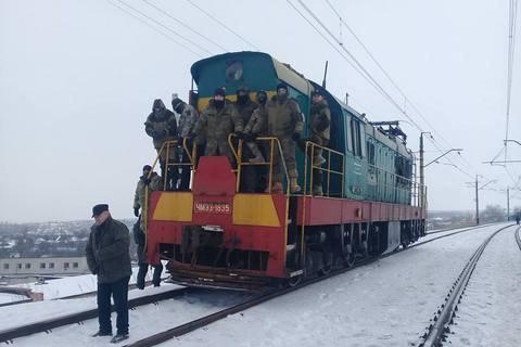 Движение поездов между Бахмутом и Горловкой заблокировали (обновлено)