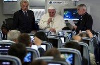 """Папа Франциск прокомментировал интервью главы УГКЦ относительно """"гаванской декларации"""""""