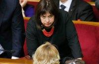 Банкова назвала кандидатами в прем'єри Яресько та Садового