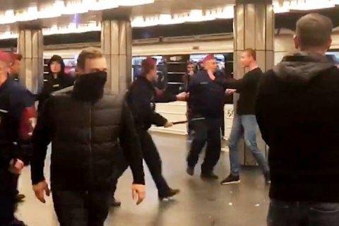 Фанати клубу Реброва з нацистською символікою напали на вболівальників московського ЦСКА