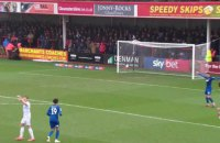 """У матчі потенційних суперників """"Манчестера Сіті"""" у Другій лізі було забито безглуздий гол"""