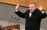 """Жириновський закликав посадити Собчак """"років на п'ять"""" за слова про Крим"""
