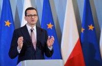 Польский премьер заявил, что Еврокомиссия превышает полномочия и вмешивается в конституционные вопросы Польши