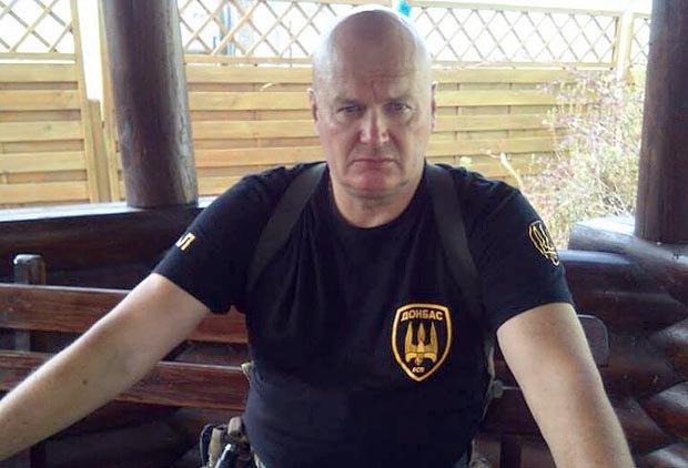 Боец Донбасса позывной Гал