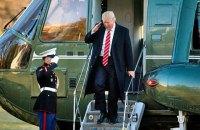 В Белом доме анонсировали первую зарубежную поездку Трампа