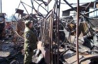 Полиция задержала подозреваемого в поджоге рынка в Нежине