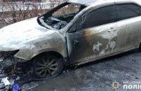 Неизвестные сожгли автомобиль секретаря горсовета Покровска