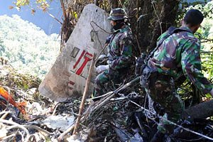 На опознание жертв авиакатастрофы в Индонезии могут уйти годы