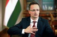 """Сіярто  заперечив  конфлікт Угорщини з Україною """"на замовлення"""" Кремля"""