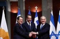 """Греция, Израиль и Кипр договорились построить альтернативу """"Северному потоку-2"""""""