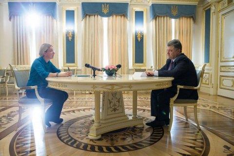 Порошенко запропонував волонтеру Супрун посаду заступника міністра охорони здоров'я