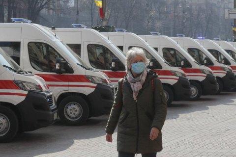 Количество заболевших коронавирусом в Киеве выросло до 279, умер 36-летний мужчина