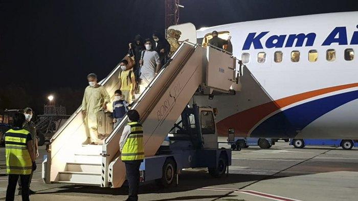 Третій евакуаційний рейс з Кабулу приземлився в Борисполі. 24 серпня 2021