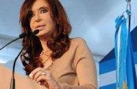 Президент Аргентины попала в больницу