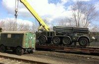 Україна завершила відведення важкого озброєння