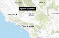 У Каліфорнії стався найсильніший землетрус з 1994 року