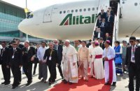 Папа Римский приехал во Мьянму с апостольским визитом
