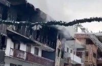 На французькому курорті Куршевель сталася велика пожежа, є жертви
