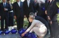 Выступление премьера Юлии Тимошенко на церемонии, посвященной 70-й годовщине начала Второй мировой войны