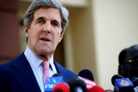Керри: Россия может или полностью выполнить минские соглашения, или продолжать терпеть санкции