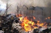 Крупный пожар в Виноградове спасатели тушили более 4 часов