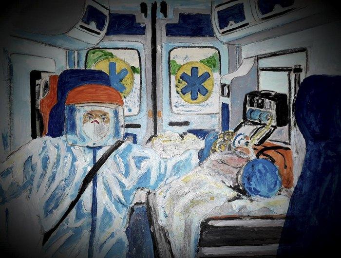 Малюнок Володимира Гонтара