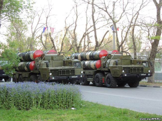 Российская военная техника в Керчи