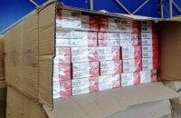 В Одеському порту в контейнері з туалетним папером виявили ящики із сигаретами