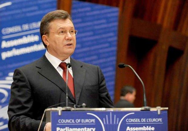 Президент Виктор Янукович считает, что пауза в отношениях Украины и ЕС пойдет на пользу