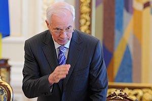 Азаров намерен заняться развитием Партии регионов