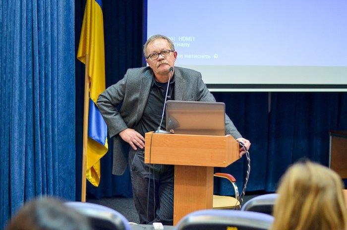 На лекции в УКУ