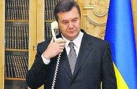 Путін і Янукович поговорили по телефону