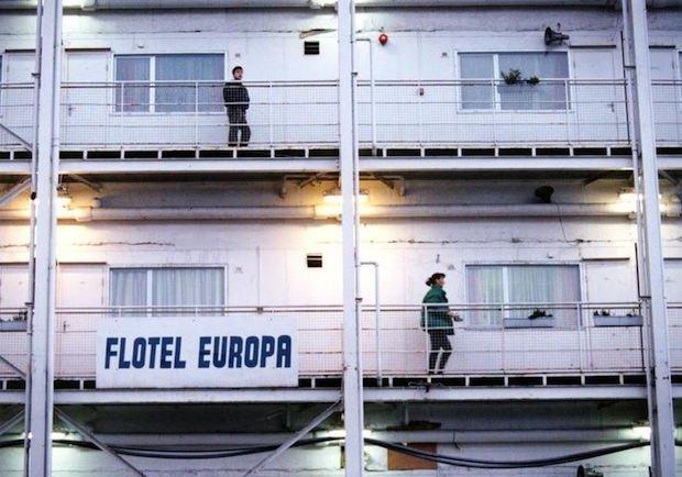 Кадр из фильма Флотель Европа