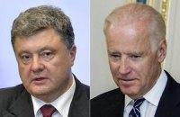 Порошенко провел телефонный разговор с вице-президентом США