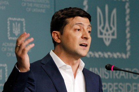 Зеленский не видит проблемы в том, чтобы жители Донбасса заполняли документы на русском языке