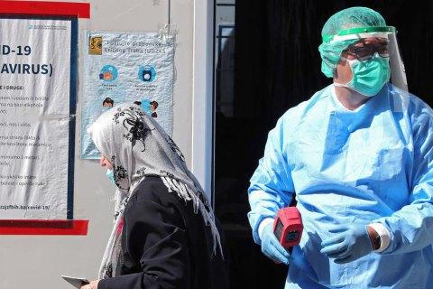 В Украине за сутки зафиксировано 2 088 новых случаев коронавируса