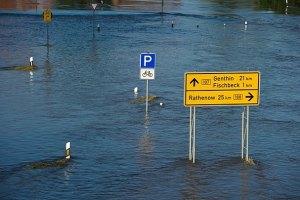 """В Хорватию пришла """"большая вода"""""""
