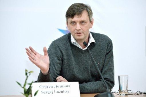 Сергей Лозница на пресс-конференции, посвященной его новому фильму