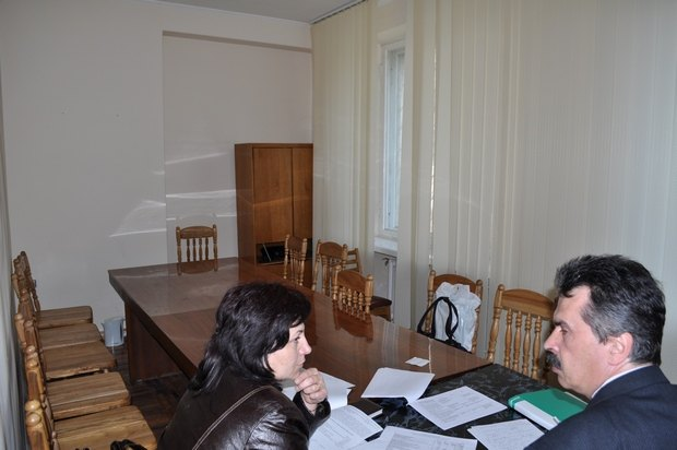 Зала для засідань і кабінет голови ОВК