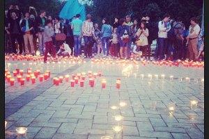 У Києві вшанували пам'ять жертв депортації кримських татар (Оновлено)